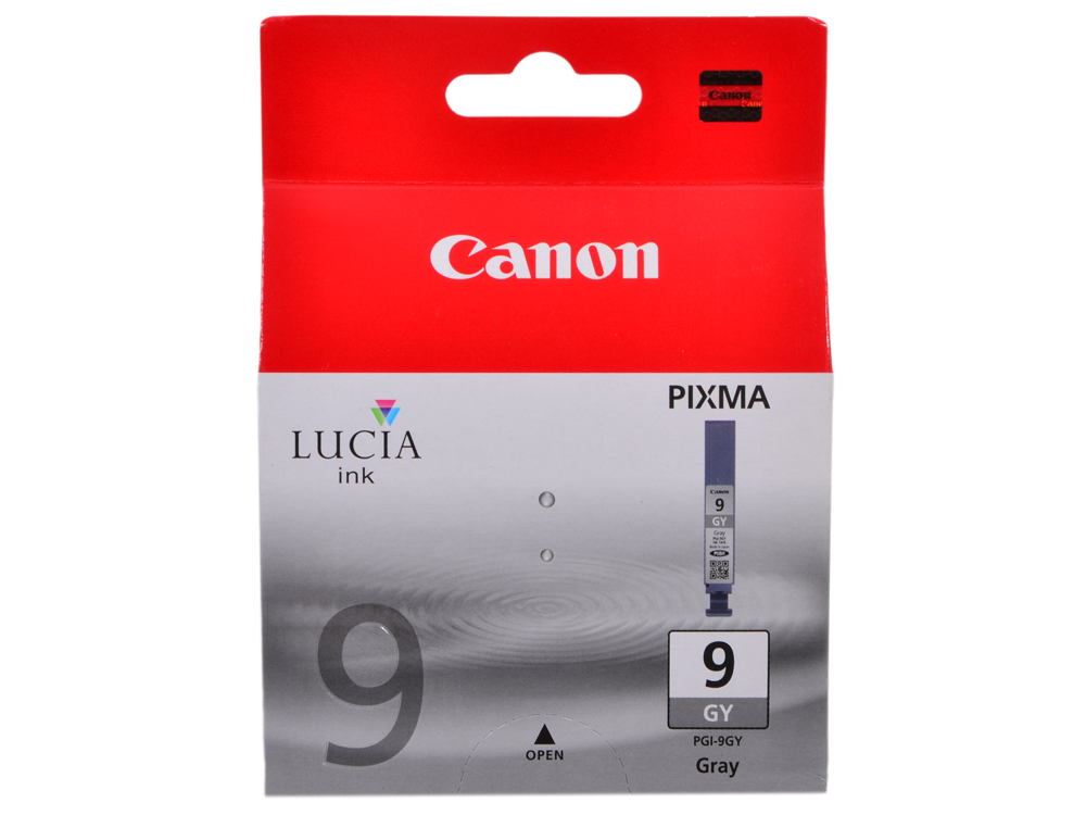 Картридж Canon PGI-9GY серый (gray) 2905 стр. для Canon Pixma Pro9500 / Pro9500 Mark II / iX7000 / MX7600 картридж canon pgi 9r красный red 1500 стр для canon pixma pro9500 pro9500 mark ii ix7000 mx7600
