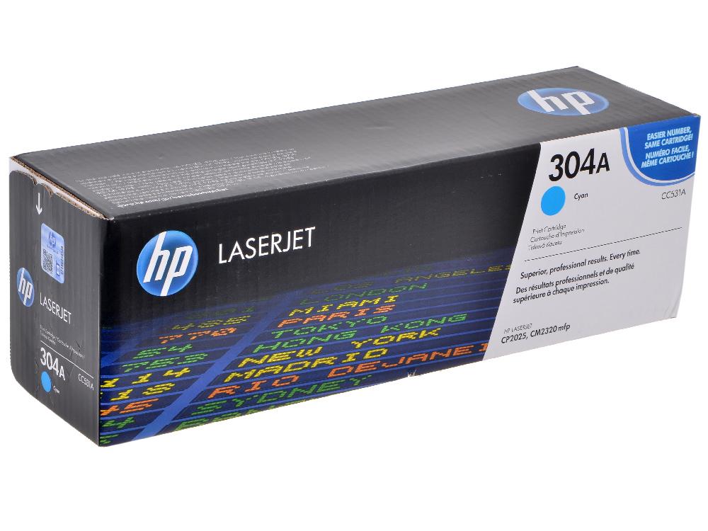 Картридж HP CC531A Голубой CLJ 2025/2320