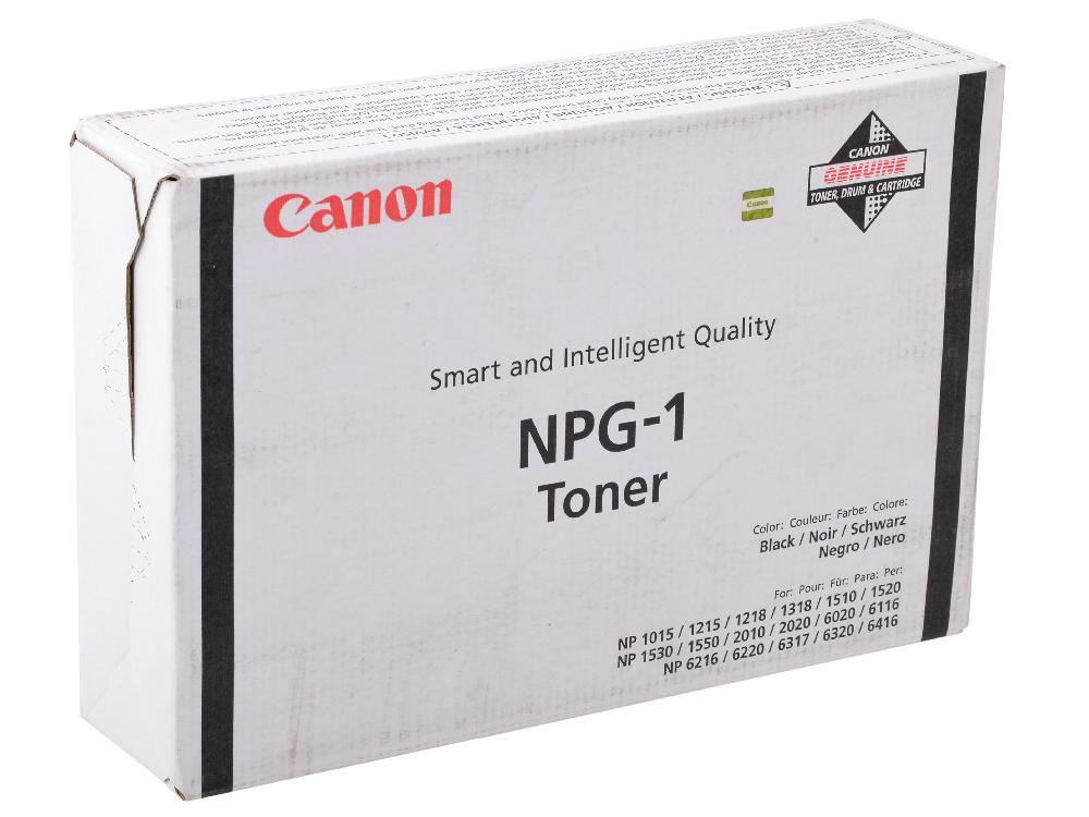 Тонер-картридж Canon NPG-1 для NP1215/6216/6416. (4 тубы). Чёрный. 4*4000 страниц. nowley 8 6216 0 5