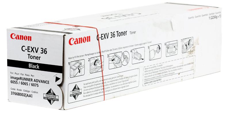 Тонер-картридж Canon C-EXV36 для iR 6055/iR 6065/iR 6075. Чёрный. 56000 страниц. цена