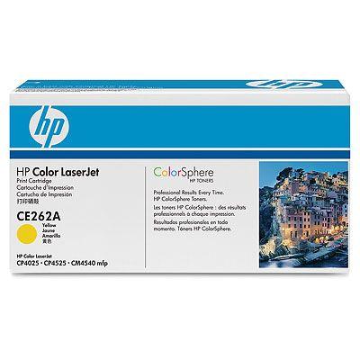 цены на Картридж HP CE262A Желтый CLJ CP4025/CP4525  в интернет-магазинах