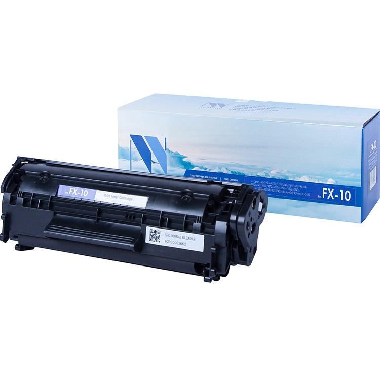 Картридж NV-Print совместимый Canon FX-10 для L100/L120/MF4010/4018/4120/4140/ 4150/ 4270/ 4320D/4330D/4340D/4350D/4370D/4380DN/4660/4690. Чёрный. 250 картридж canon fx 10 для l100 l120 2000стр