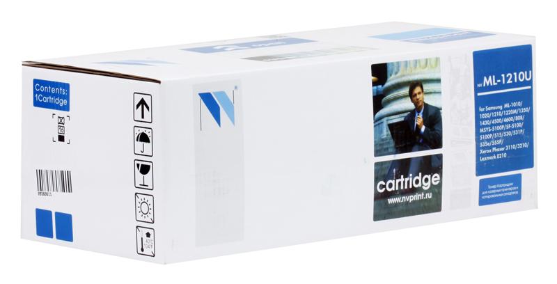 Картридж NV-Print ML-1210 черный (black) 2 500 страниц для Samsung ML-1010/1020M/1210/1220/1250/1430