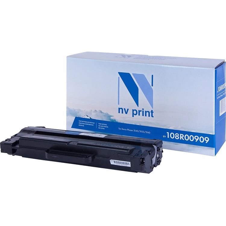 Картридж NV Print совместимый Xerox для Phaser 3140/3155/3160. Чёрный. 2500 страниц. (108R00909) ballu bhc l08 s05 m