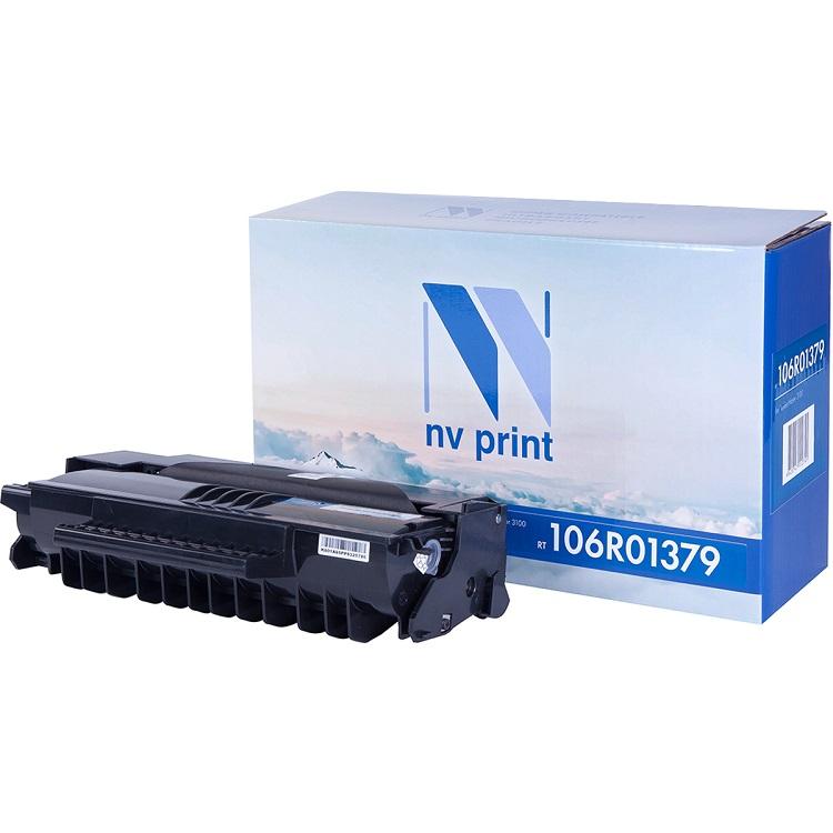 цена на Картридж NV-Print совместимый Xerox для Phaser 3100MFP. Чёрный. 6000 страниц. (106R01379)