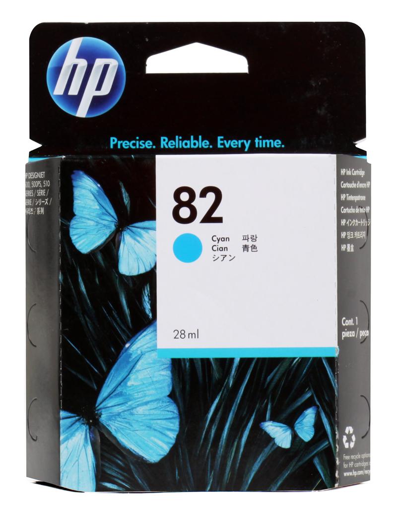 Картридж HP CH566A (№82) голубой 28мл Designjet 500/510 hot sales 80 printhead for hp80 print head hp for designjet 1000 1000plus 1050 1055 printer