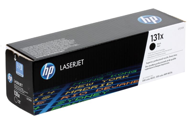 Картридж HP CF210X ( 131X) черный цены