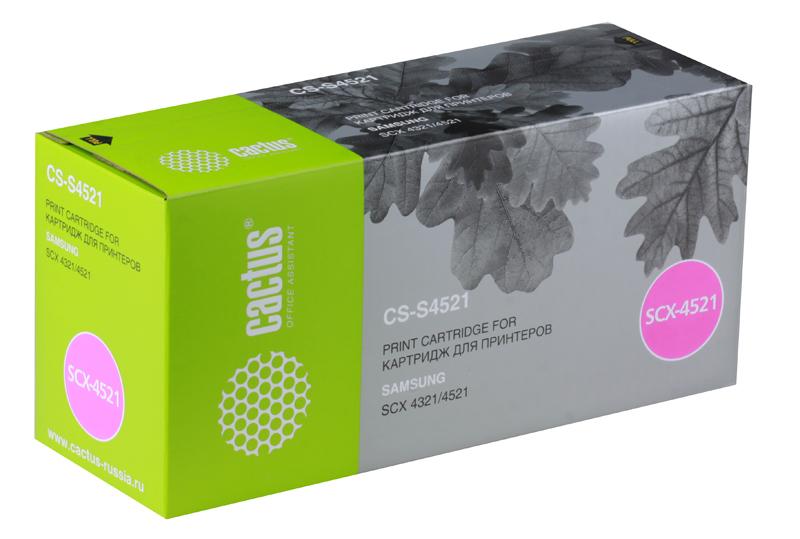 Картридж CACTUS CS-S4521 для принтеров SAMSUNG SCX-4521F/ 4321, 3000 стр. картридж cactus cs d115l black для samsung sl m2620d m2820nd m2820dw 3000 стр