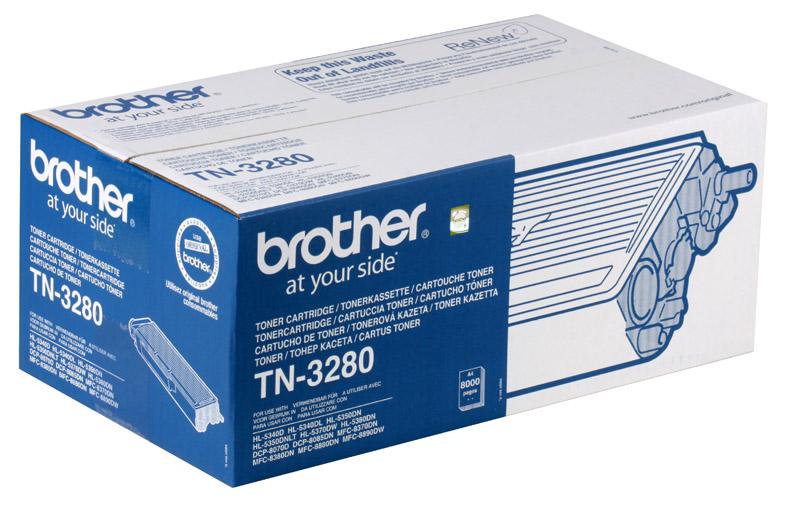 Тонер-картридж Brother TN3280 цена 2017