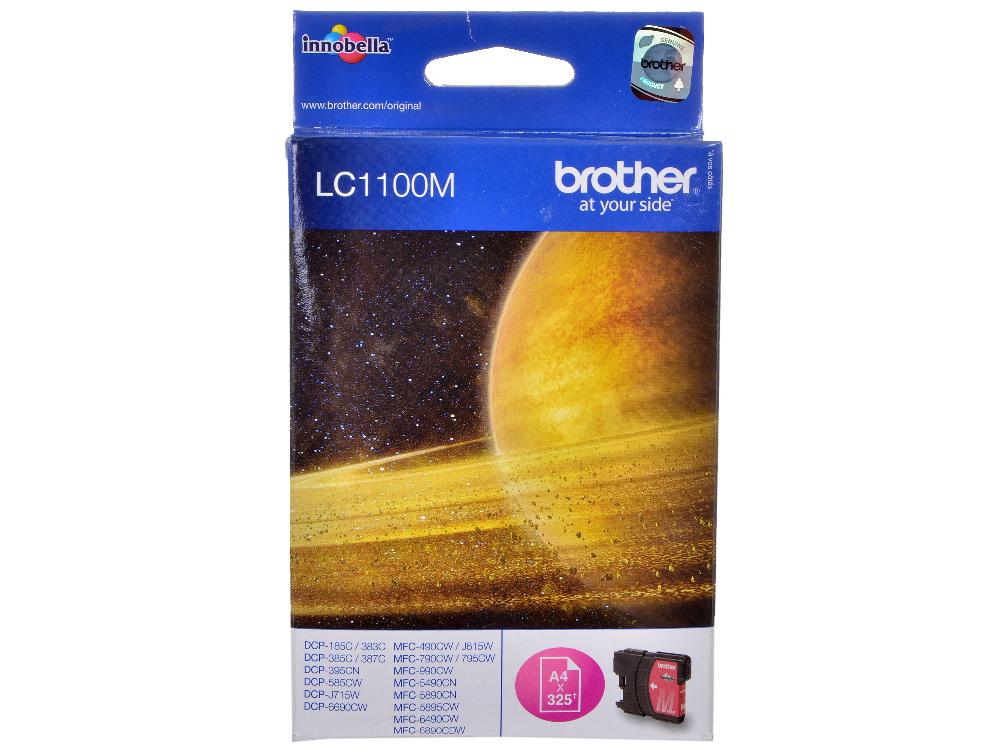 все цены на Картридж струйный Brother LC1100M онлайн