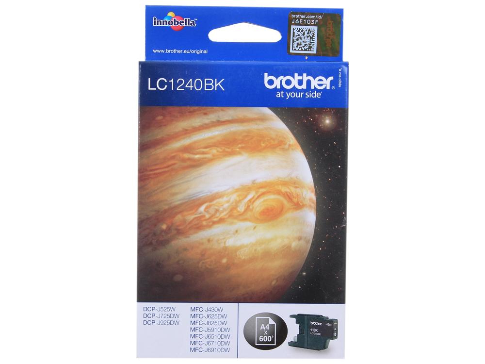 Картридж струйный Brother LC1240BK цена