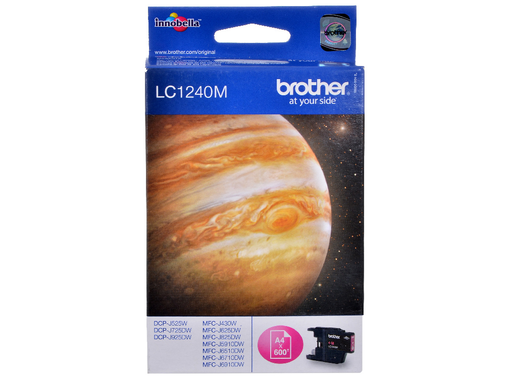 Картридж струйный Brother LC1240M цена