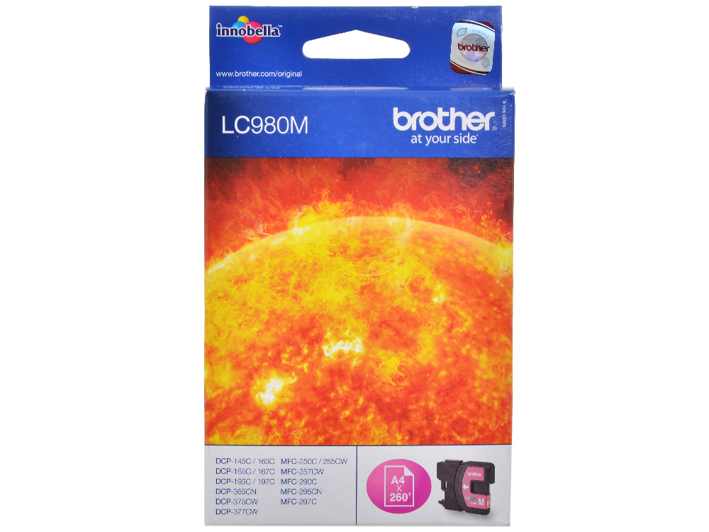 все цены на Картридж струйный Brother LC980M онлайн
