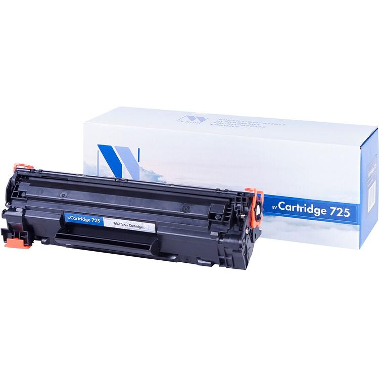 Картридж NV-Print совместимый Canon 725 для LBP 6000/6000B/HP LJ Р1102/Р1102W. Черный. 1600 страниц. картридж nv print cc533a canon 718 magenta для нewlett packard lj color cp2025 2800k