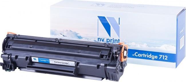 Картридж NV-Print совместимый Canon 712 для i-SENSYS LBP 3010/3100/HP LJ P1005. Чёрный. 1500 страниц.