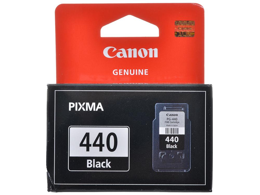 Картридж Canon PG-440 для PIXMA MG2140, MG3140. Черный. 180 страниц. картридж canon pg 46 для pixma e404 e464 черный 9059b001