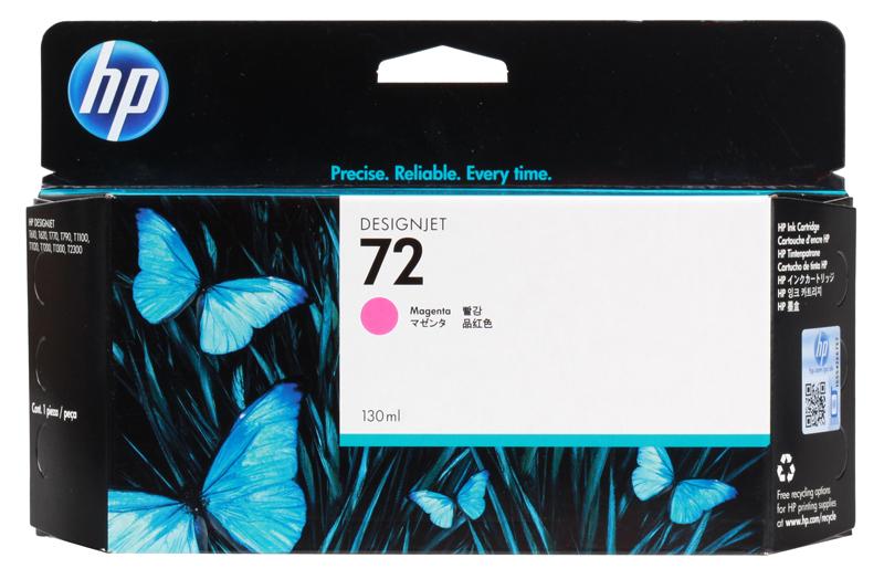 Картридж HP C9372A (72) Magenta 130 ml цена и фото