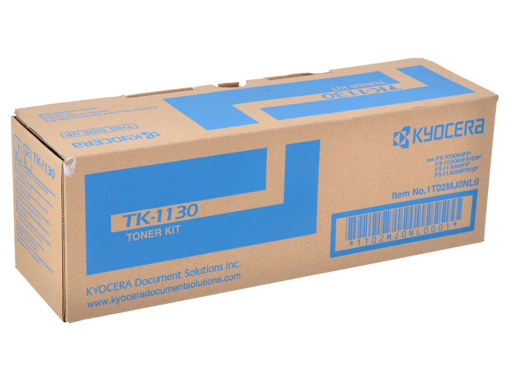 Тонер Kyocera TK-1130 1T02MJ0NL0 (FS-1130MFP ) new original kyocera 302mh94110 switching regulator 230v for fs 1130 1030 1135 1035 m2030 m2530 m2035 m2535