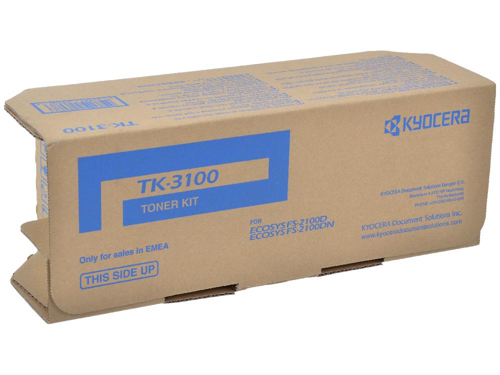 Тонер Kyocera TK-3100 1T02MS0NL0 (FS-2100DN ) тонер cactus cs tk3100 для kyocera ecosys fs 2100d 2100dn черный 12500стр