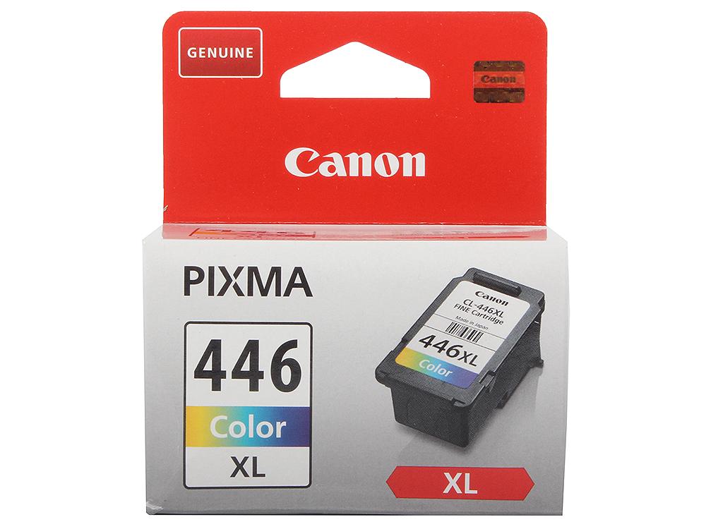 Картридж Canon CL-446XL для PIXMA MG2440/2540. Цветной. 300 страниц.
