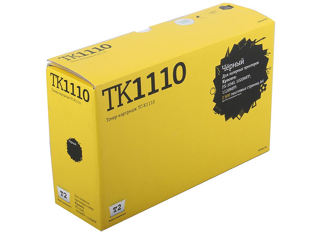 Тонер-картридж T2 TC-K1110 для Kyocera FS-1040/1020MFP/1120MFP (2500 стр.) с чипом тонер картриджt2