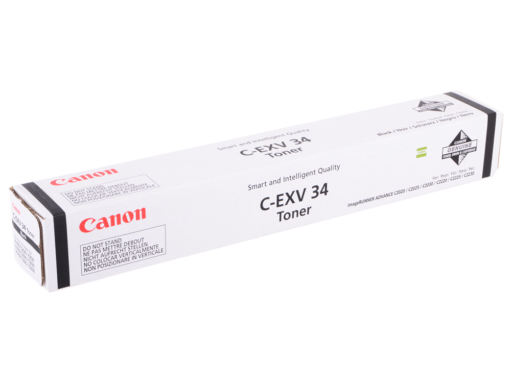 Тонер-картридж Canon C-EXV34Bk