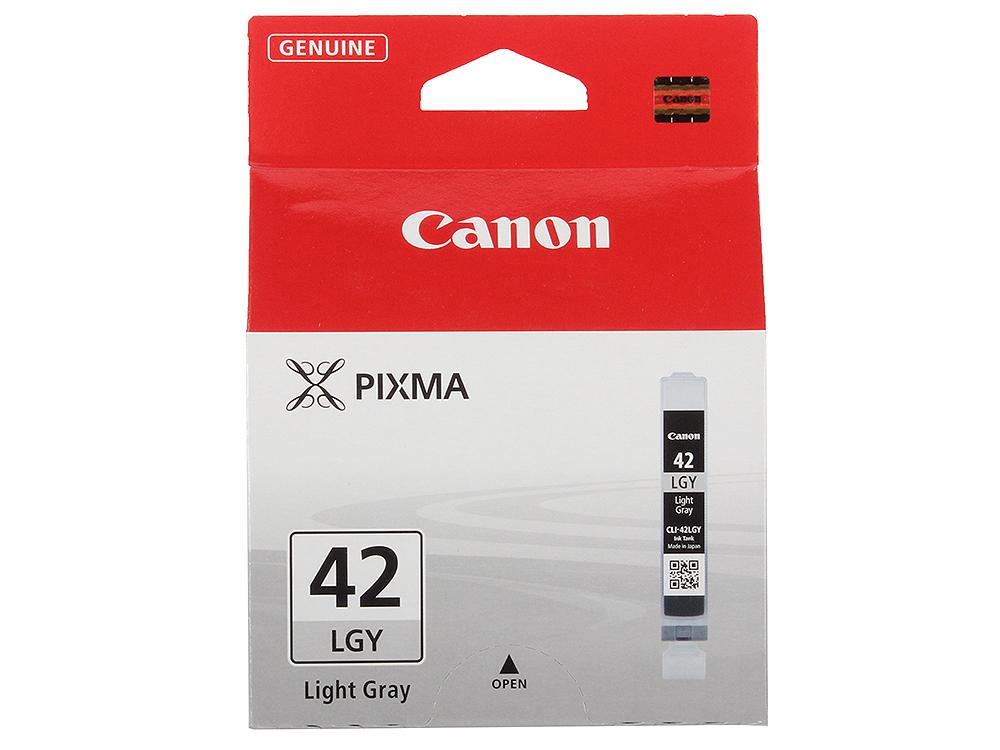 Картридж Canon CLI-42LGY для PRO-100. Серый. 835 фотографий. картридж для принтера canon cli 426 серый