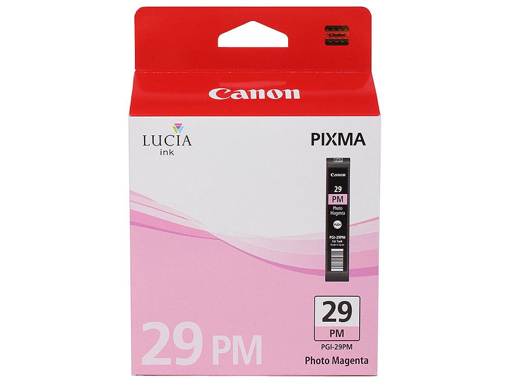 Фотокартридж Canon PGI-29PM для PRO-1. Пурпурный. 228 страниц. фотокартридж canon pgi 29pc для pro 1 голубой 400 страниц