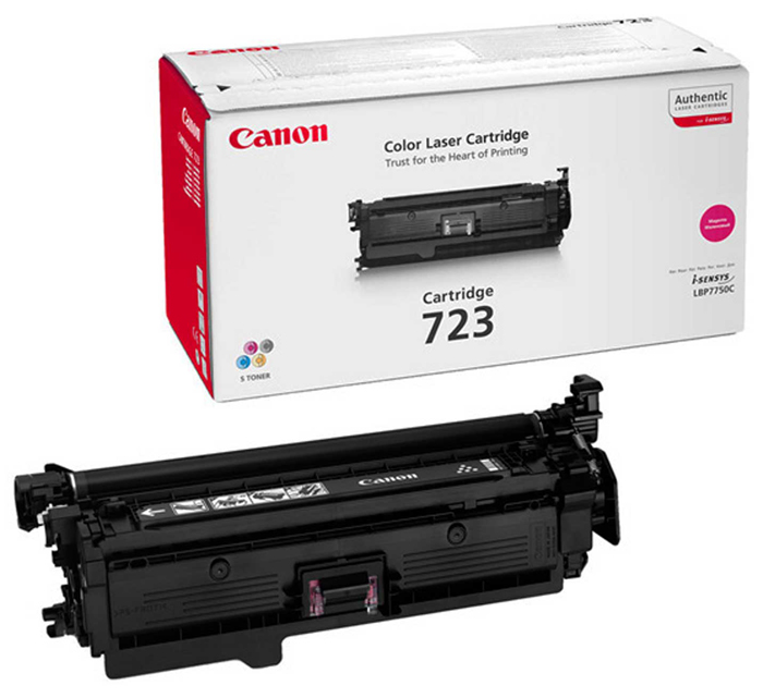 Картридж Canon 723 M для LBP 7750/7750CDN . Пурпурный. 8500 страниц. тонер картридж canon c exv9m для ir3100c пурпурный 8500 страниц