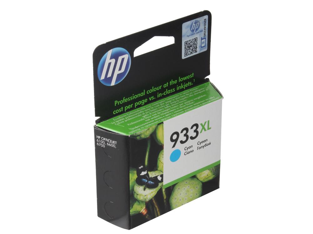 Картридж HP CN054AE (№ 933XL) голубой OJ 6700 картридж hp n82 голубой ch566a