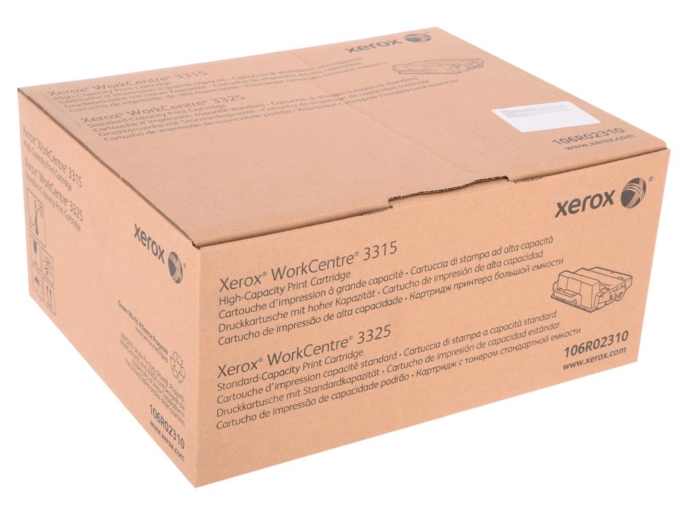 Картридж Xerox 106R02310 для WC 3315/3325. Чёрный. 5000 страниц. фьюзер xerox 126n00411 для wc 3315dn