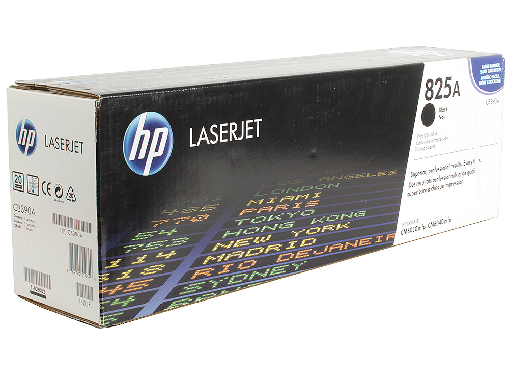 Картридж HP CB390A для Color LaserJet CM6030/CM6030f/CM6040. Черный. 19500 страниц. toner refill for hp color laserjet cm6030 cm6040 printer for hp toner cb380a cb381a cb382 83a cb390a cm 6030 6040 toner for hp