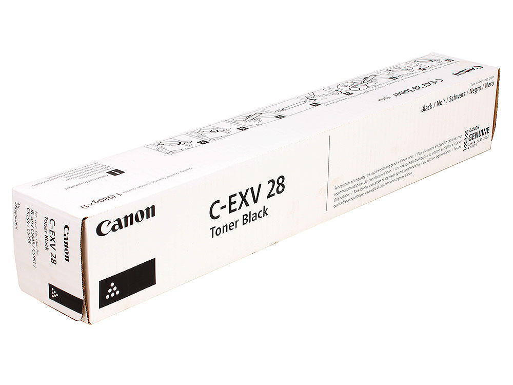 Тонер-картридж Canon C-EXV28 Bk для iR-ADV C5030, iRC5035, iRC5045, iRC5051. Черный. 44000 страниц. тонер картридж canon c exv32 черный для ir2535 2535i 2545 2545i
