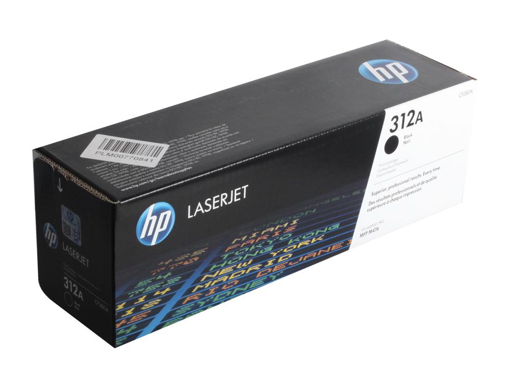 Картридж HP CF380A для Color LaserJet Pro MFP M476 series. Чёрный. 2400 страниц. картридж hp q6000a color laserjet 1600 чёрный