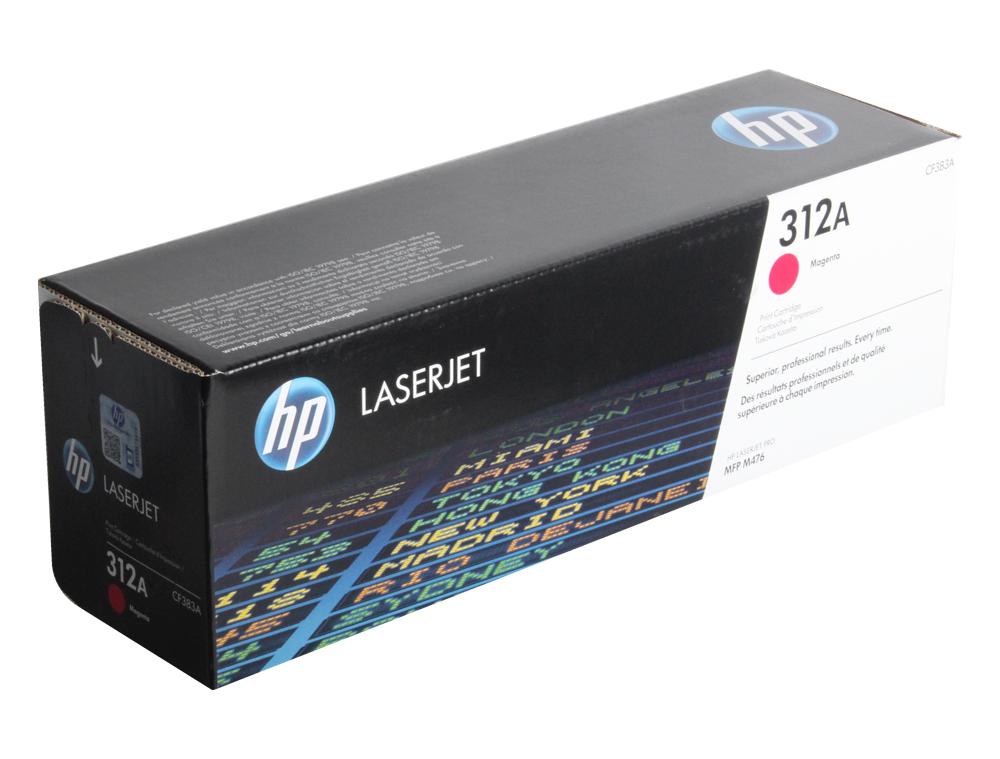 Картридж HP CF383A для Color LaserJet Pro MFP M476 series. Пурпурный. 2700 страниц. картридж hp cf533a hp 205a для hp laserjet m180 m181 пурпурный 900 страниц