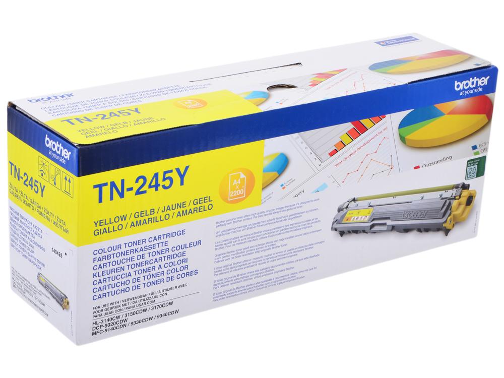 лучшая цена Тонер-картридж Brother TN245Y