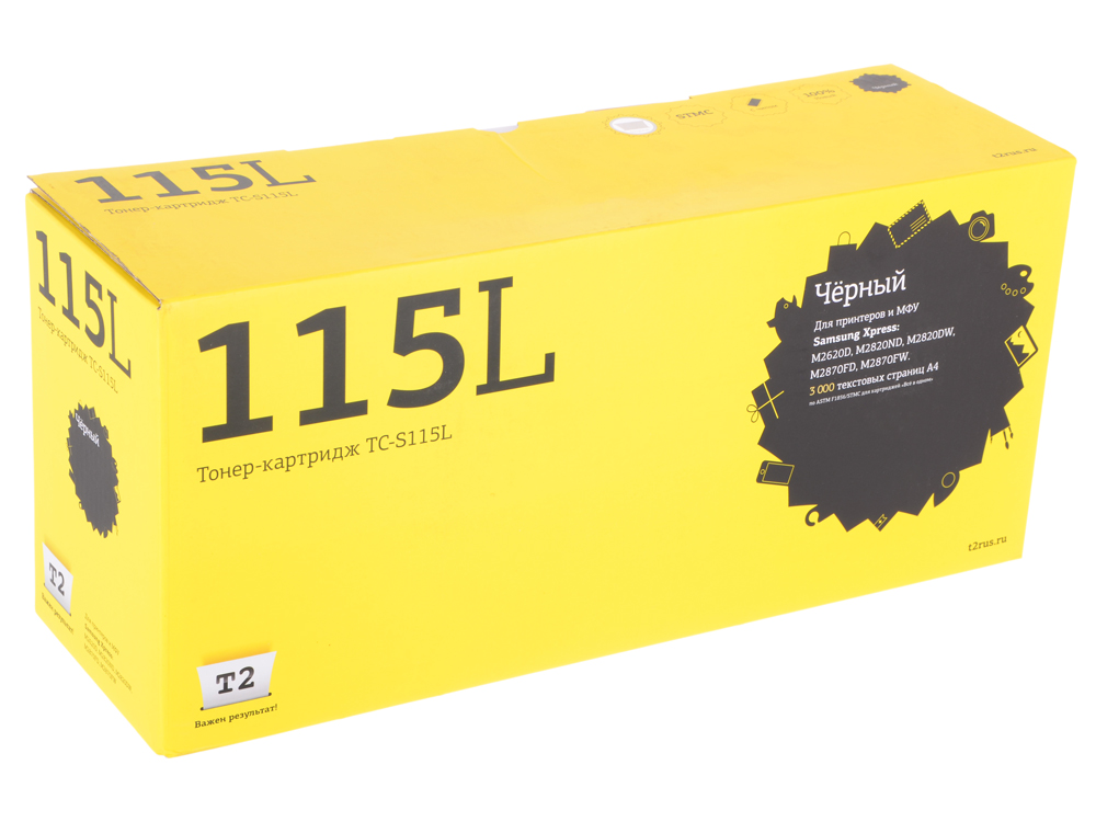 Картридж T2 TC-S115L (с чипом) картридж t2 ar 016t lt tc sh016