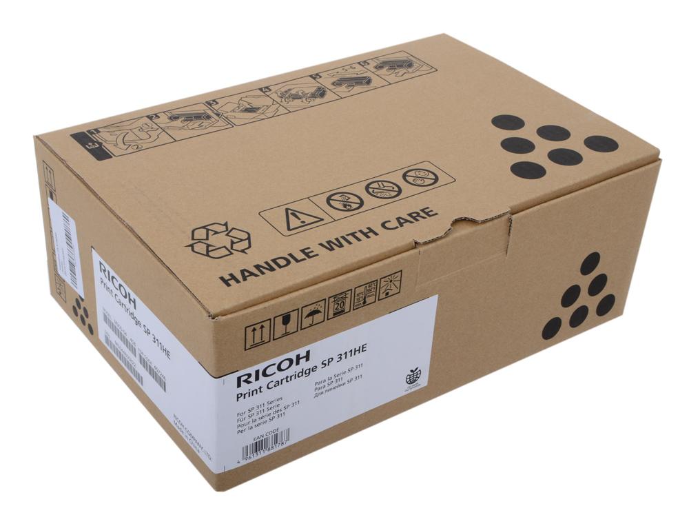 Принт-картридж Ricoh SP 311HE для SP 311DN/311DNw/311SFN/311SFNw. Черный. 3500 страниц. ricoh sp 311dn