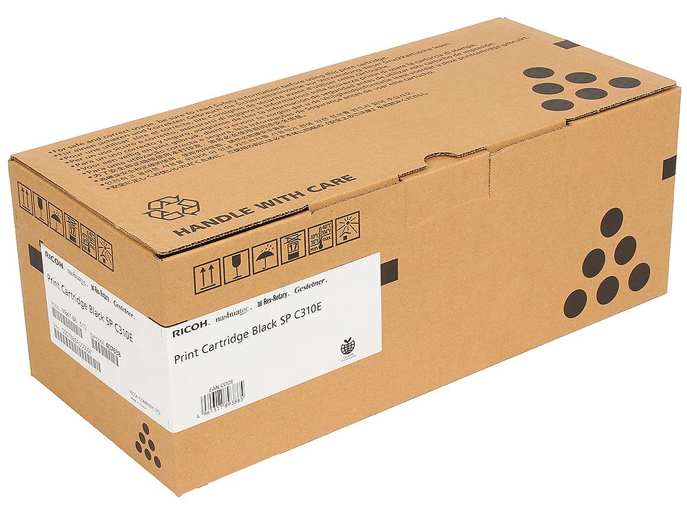 Принт-картридж SPC310E для Aficio SP C231SF/C232SF/C231N/C232DN/C311N/C312DN/C320DN/C242DN/C242SF. Чёрный. 2800 страниц. цена и фото