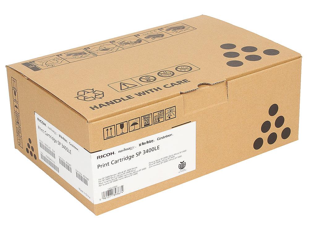 цены Принт-картридж тип SP3400LE/SP3500LE для Aficio SP3400N/3410DN/3400SF/3410SF/3500N/3510DN/3500SF/3510SF. Черный. 2500 страниц.