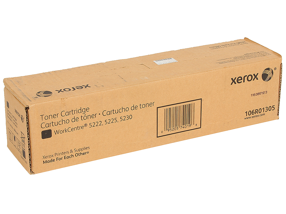 Картридж Xerox 106R01305 для WCP 5225/5230. Чёрный. 30000 страниц. цена в Москве и Питере