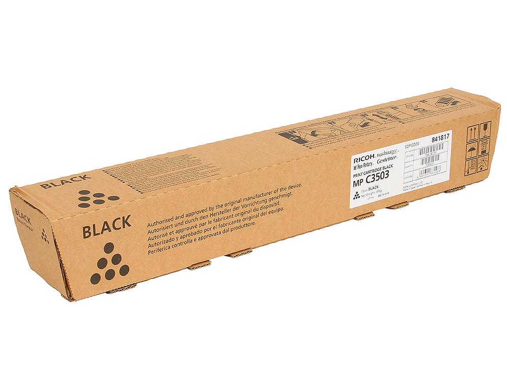 Тонер тип MP C3503 Черный, 29500 страниц тонер тип mp c3503 черный 29500 страниц