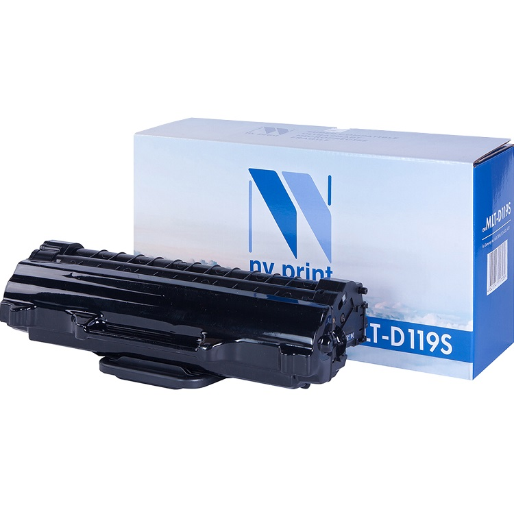 Картридж NV-Print совместимый для Samsung MLT-D119S для ML-1610/1615/1620/1625/ML-2010/2015/2020/ 2510/2570/2571/SCX-4321/4521. Чёрный. 2000 страниц.