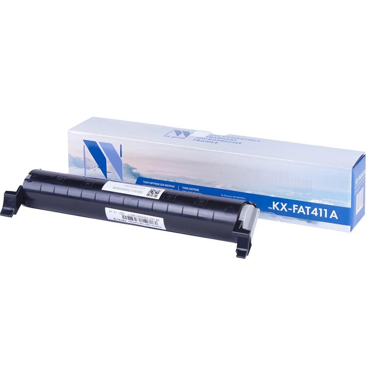 Картридж NV-Print KX-FAT411A цена