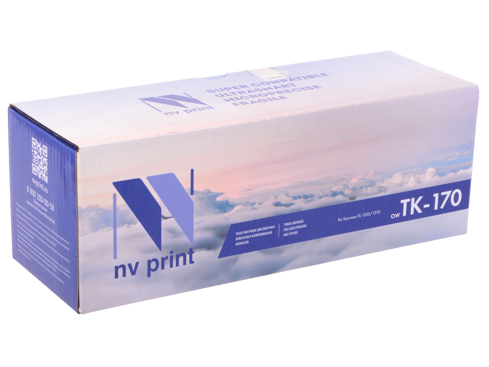 Картридж NV-Print совместимый Kyocera TK-170 для FS-1320/1320N/1320DN/1370/1370N/1370DN. Чёрный. 7200 страниц. цены