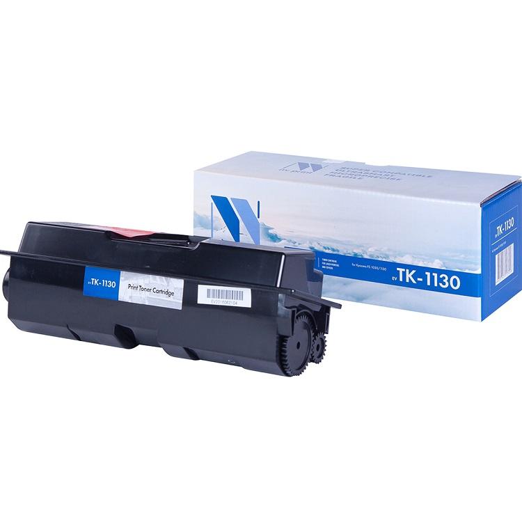 Картридж NV-Print совместимый Kyocera TK-1130 для FS-1030/1130MFP. Чёрный. 3000 страниц. new original kyocera 302mh94110 switching regulator 230v for fs 1130 1030 1135 1035 m2030 m2530 m2035 m2535