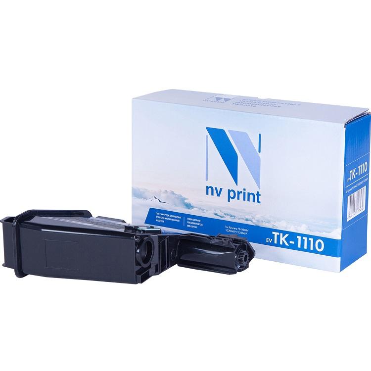 Картридж NV-Print совместимый Kyocera TK-1110 для FS-1040/1020MFP/1120MFP. Чёрный. 2500 страниц. картридж hi black tk 1110 для kyocera fs 1040 1020mfp 1120mfp