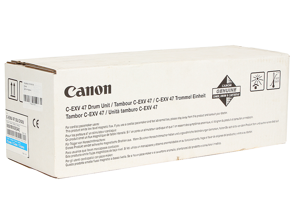 Фотобарабан Canon C-EXV47C для iR C1325iF/1335iF. Голубой.