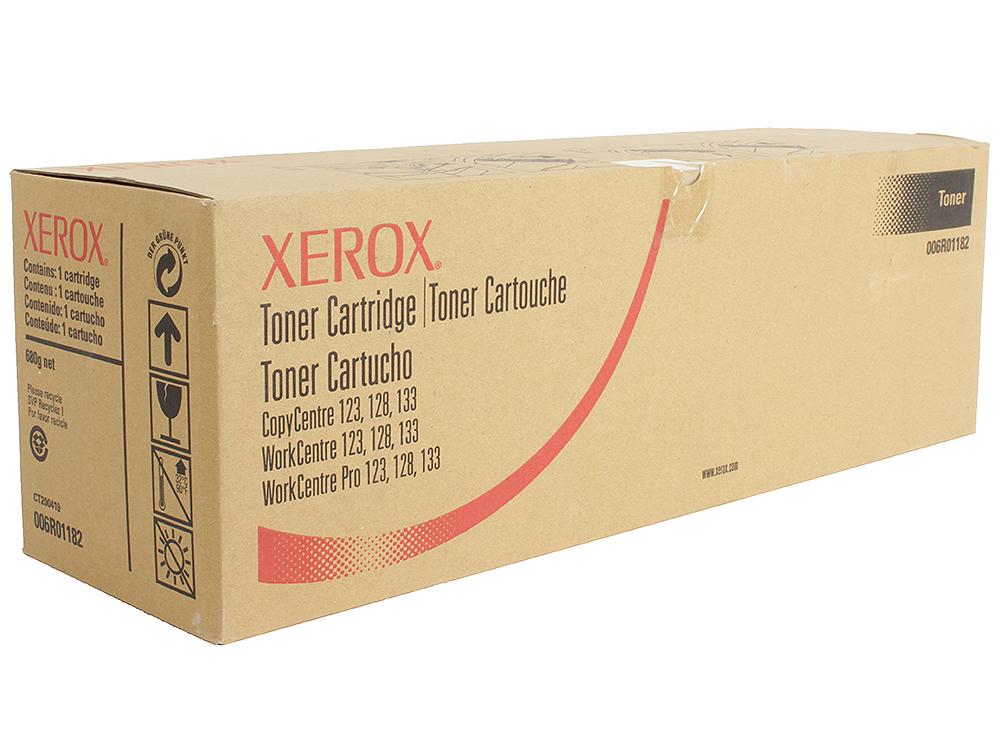 Картридж Xerox 006R01182 для лазерного МФУ WorkCentre M128. Чёрный. 11 000 страниц мфу xerox workcentre 6515dn