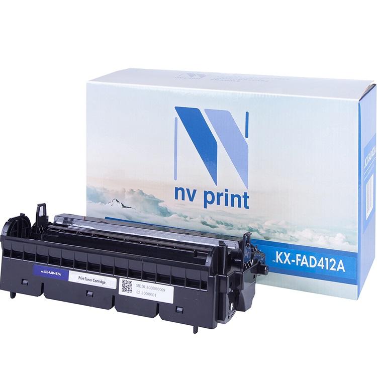 Фотобарабан NV-Print совместимый Panasonic KX-FAD412А для KX-MB2000/2020/2030. Чёрный. 6000 страниц. цена